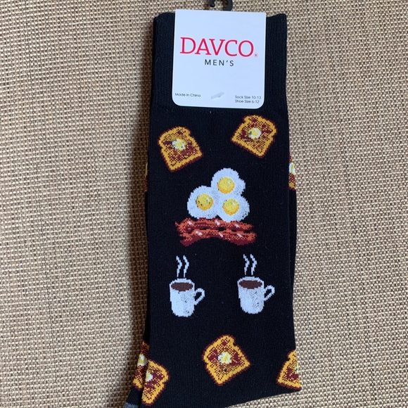 Davco Other - NWT DAVCO Men's ☕️ Coffee/Breakfast Socks